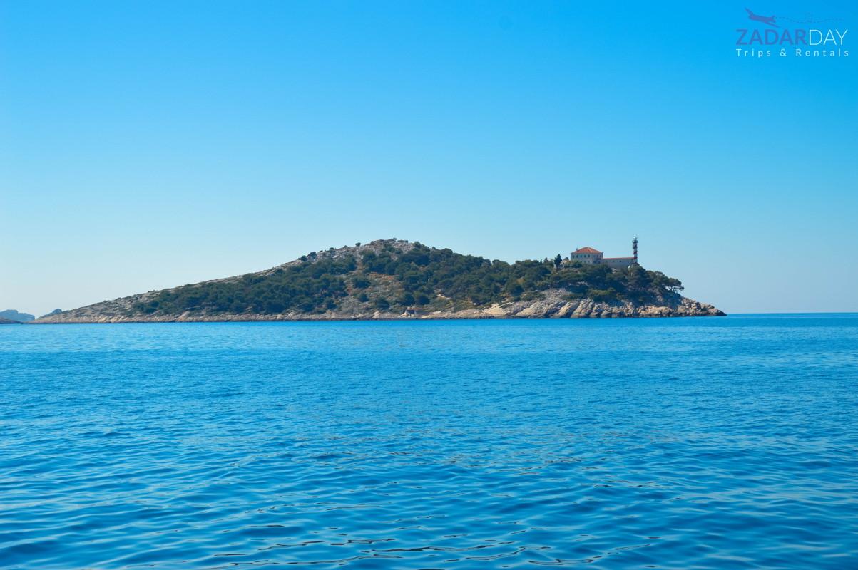 Popular lantern on Kornati islands