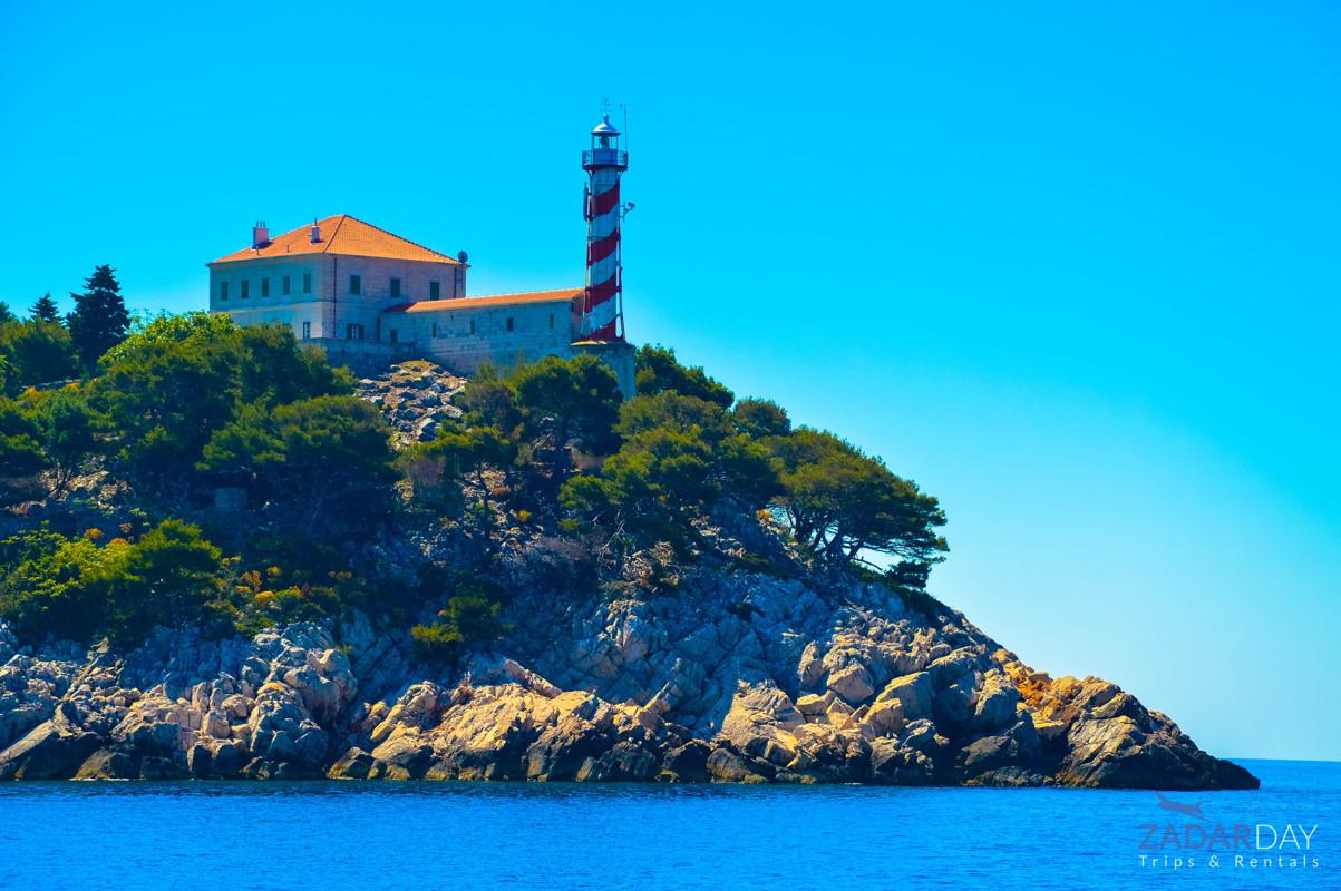 Lighthouse Tajer on Kornati