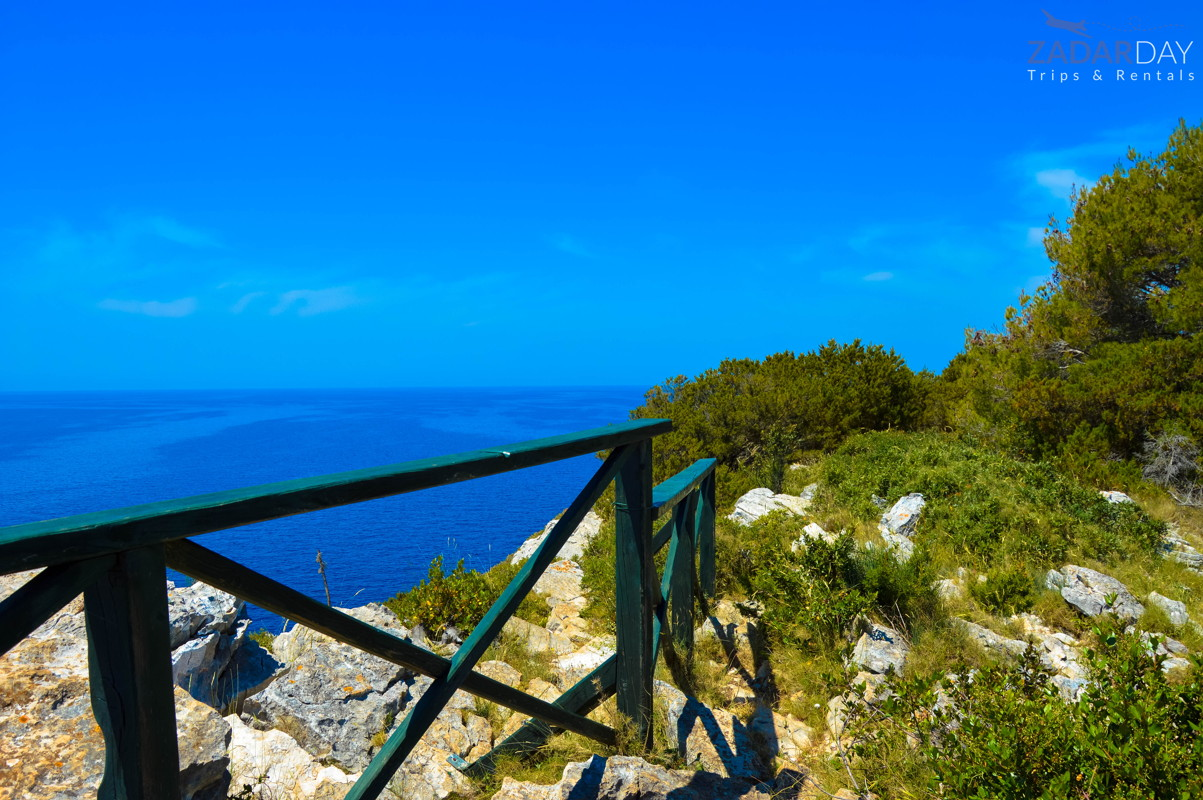 Top of the cliffs at Nature park Telascica