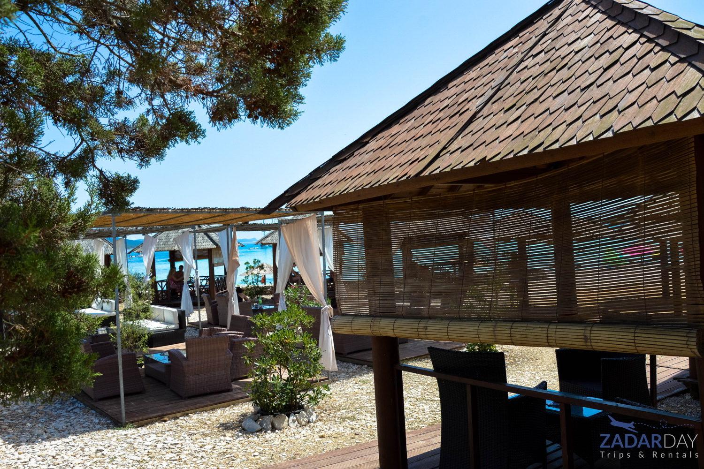 Beach bar on Sakarun beach
