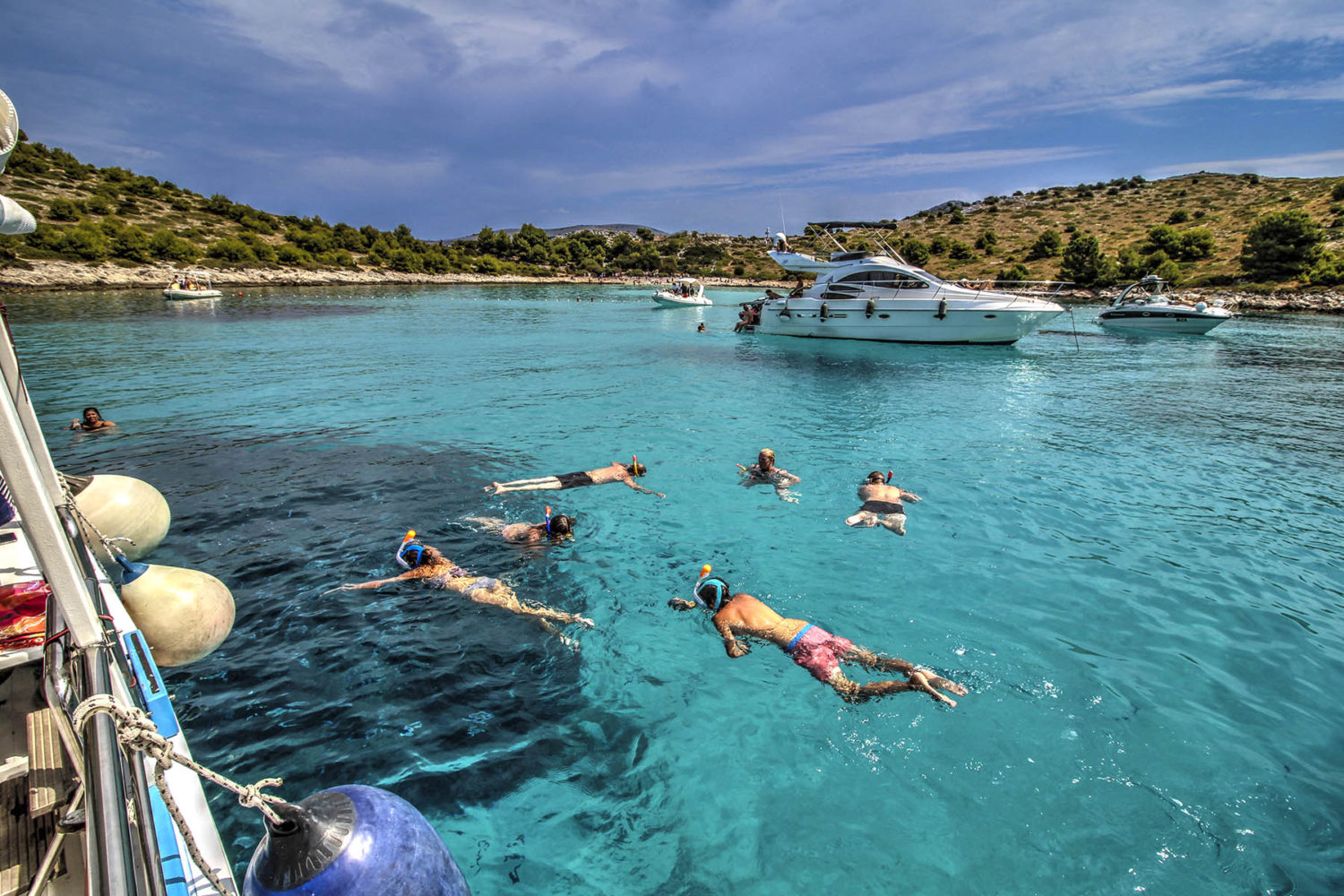 Diving on Dugi Otok