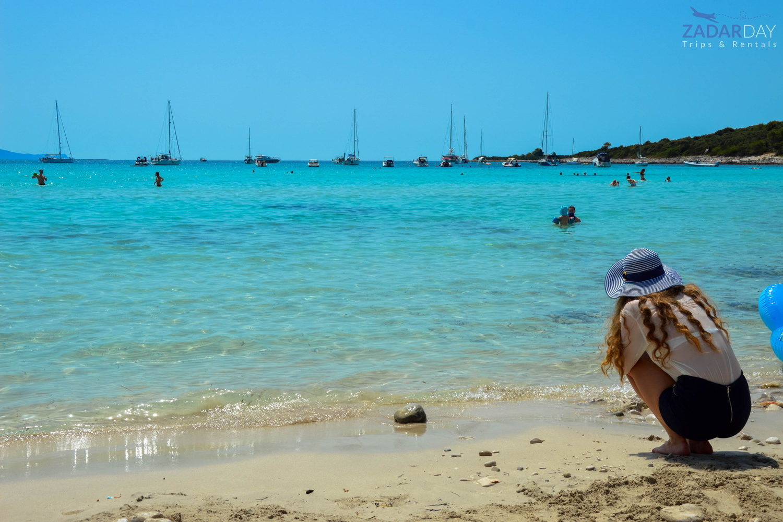 Dugi Otok plaža Sakarun