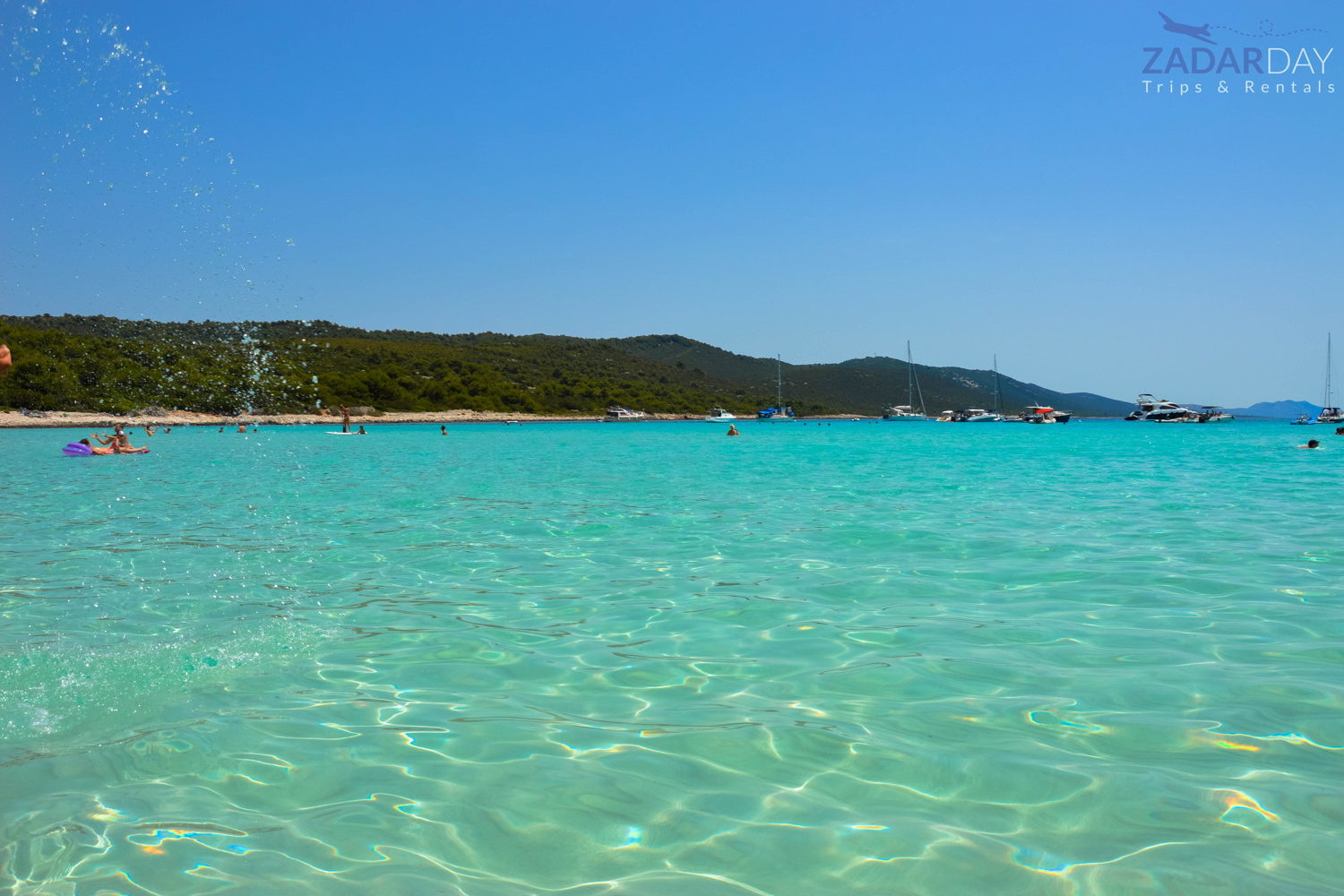 Sakarun beach Croatia