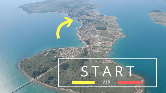 Meeting point on Vir island - Put Mula 16