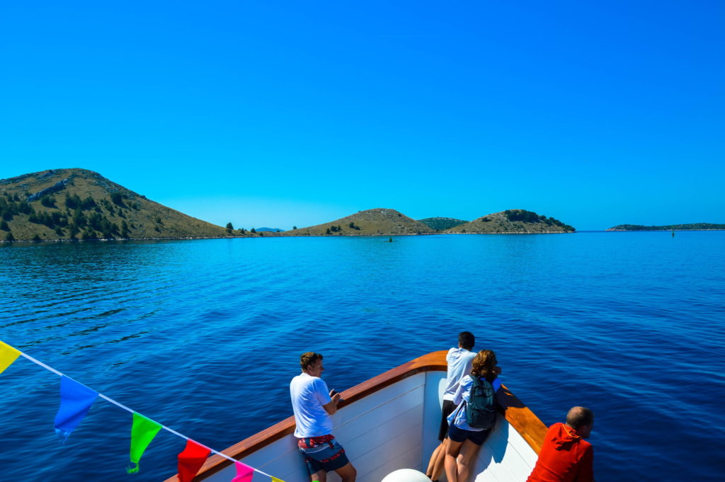 Best Things To Do In Zadar. Kornati national park - view from boat