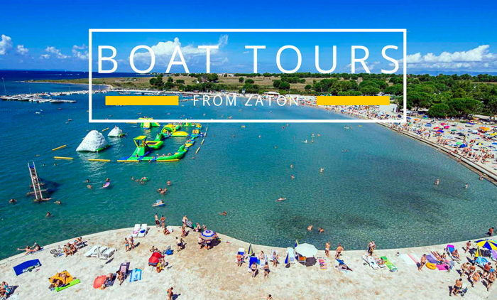 Boat tours from Zaton Holiday Resort