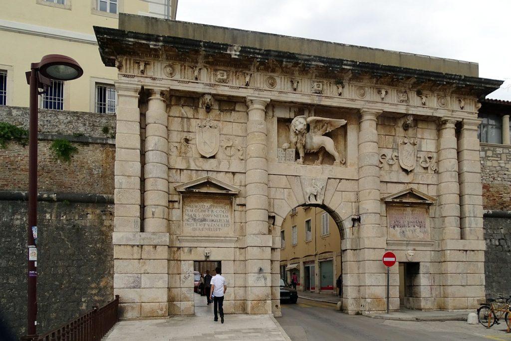 Best Things To Do In Zadar. Foša Land Gate