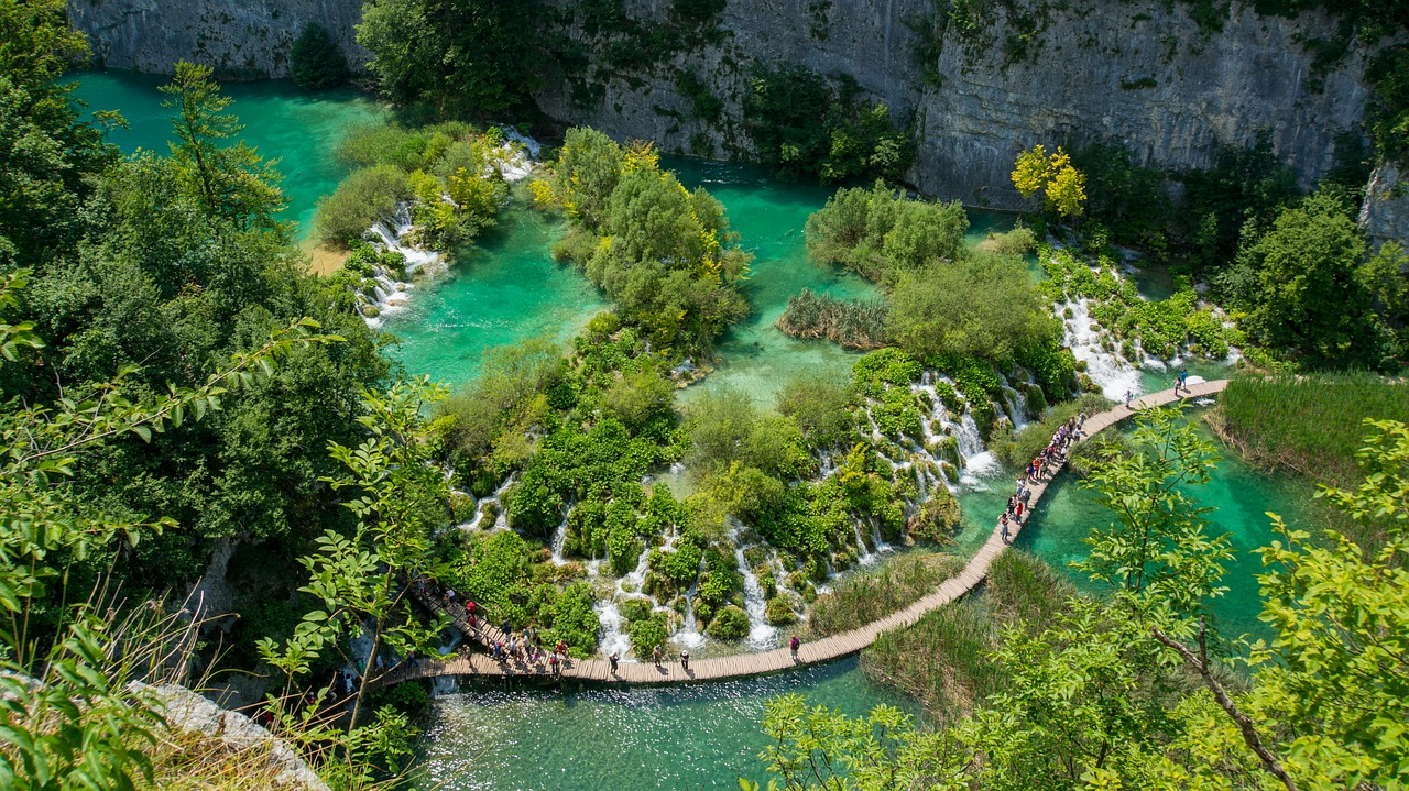 Plitvice lakes map