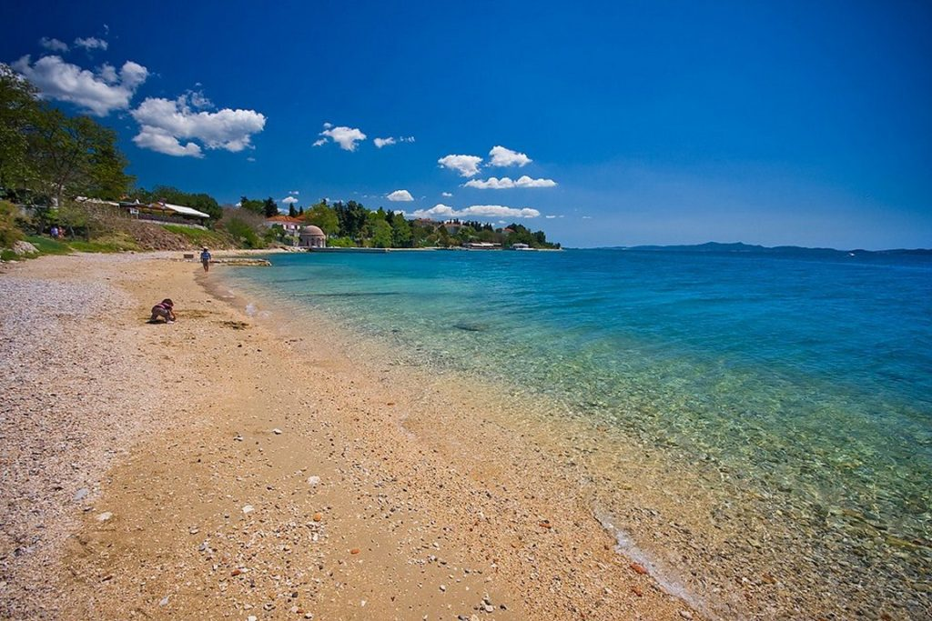 Best Things To Do In Zadar. Kolovare beach - the oldest beach in town