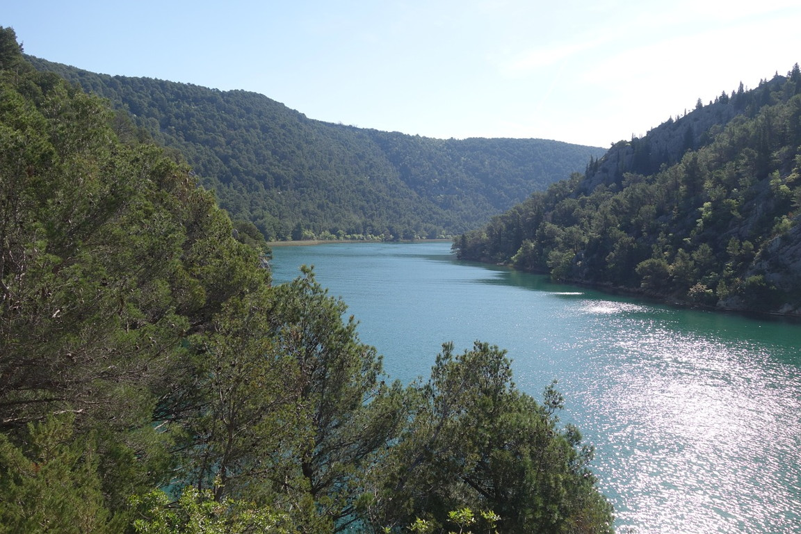 Krka canyon