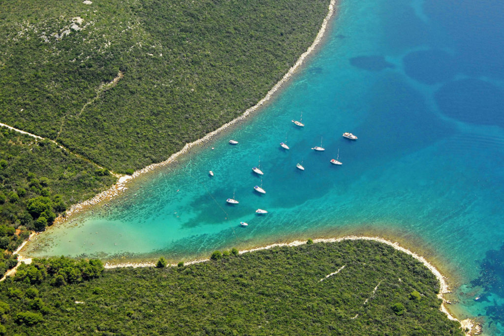 Best beaches on Ugljan